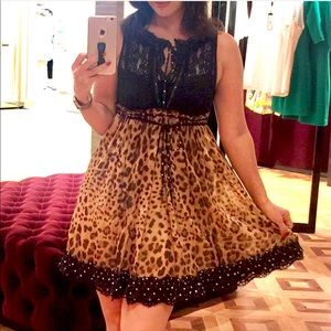 Dolce and Gabbana Leopard Dress.